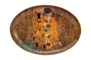 Summer P., owalna paterka Gustav Klimt - The Kiss