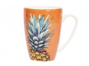 Churchill, kubek - Pineapples, ananasy