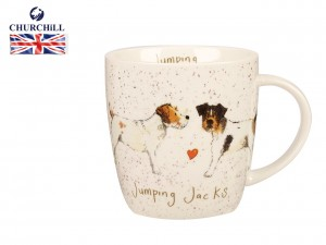 Churchill, kubek - Delightful Dogs Jumping Jacks
