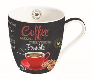 Kubek porcelanowy ''Nuova R2S - It's Coffee Time''
