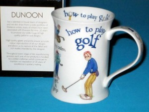 DUNOON, kubek COTSWOLD - How To Play Golf