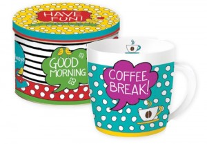 Kubek w puszce ''R2S/Have Fun Coll. - Coffee Break''