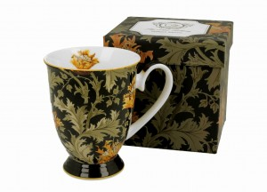 Duo Porcelana, kubek na stopce 325 ml CHRYSANTHEMUM William Morris