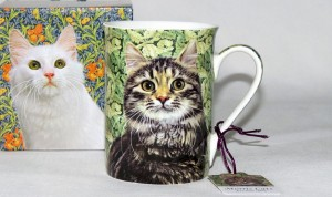 P4Y, kubek William Morris Cats, kot (350ml )